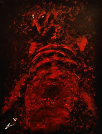 Rot, acrylic, 20'' x 16''