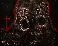 Mimesis, acrylic, 16'' x 20''
