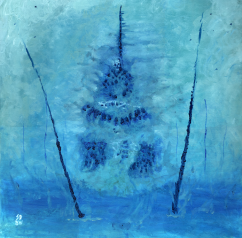 Soteria, oil, 20'' x 20''