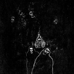 Vigil, ink, 12'' x 9''