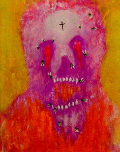 UNTITLED498, acrylic, 3443 x 4345